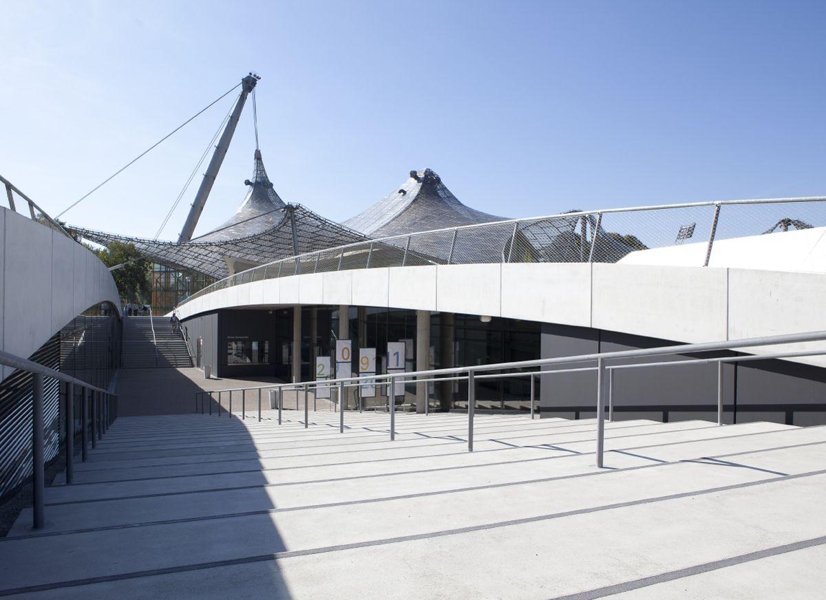Sitzplan olympiahalle münchen